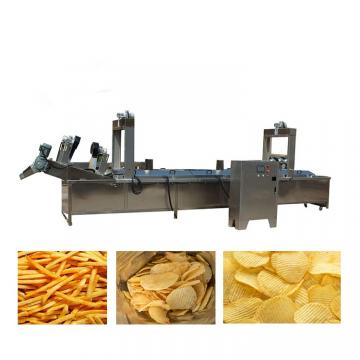 Automatic Fresh Potato Chips Frensh Quick-Freezing Chips Making Machine