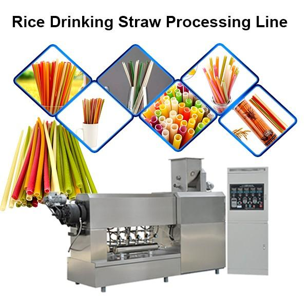 60m/minute high speed multi-layers biodegradable paper drinking straw making machine #1 image