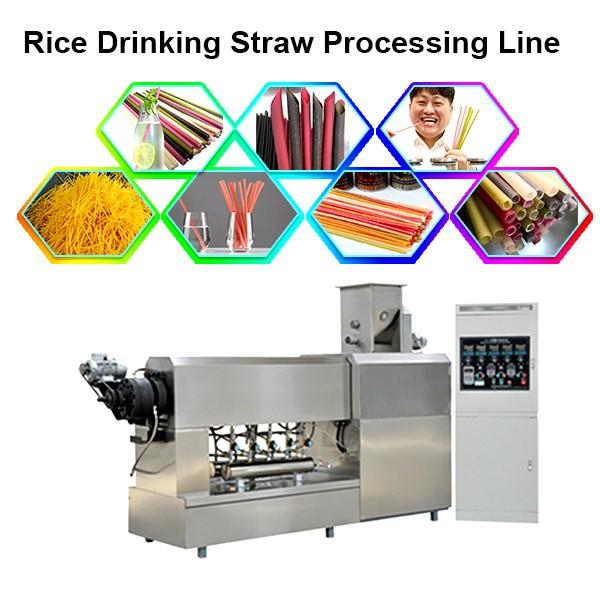 Automatic Biodegradable Paper Drinking Straw Making Machine High Speed #1 image