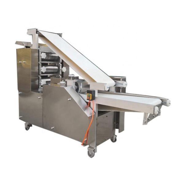 Flat Bread Tortilla Making Forming Dough Moulder Dough Pressing Sheeter Cutter Machine #1 image